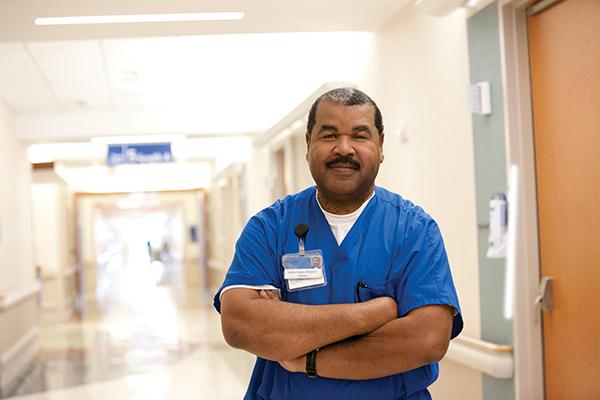 Photograph of a nurse