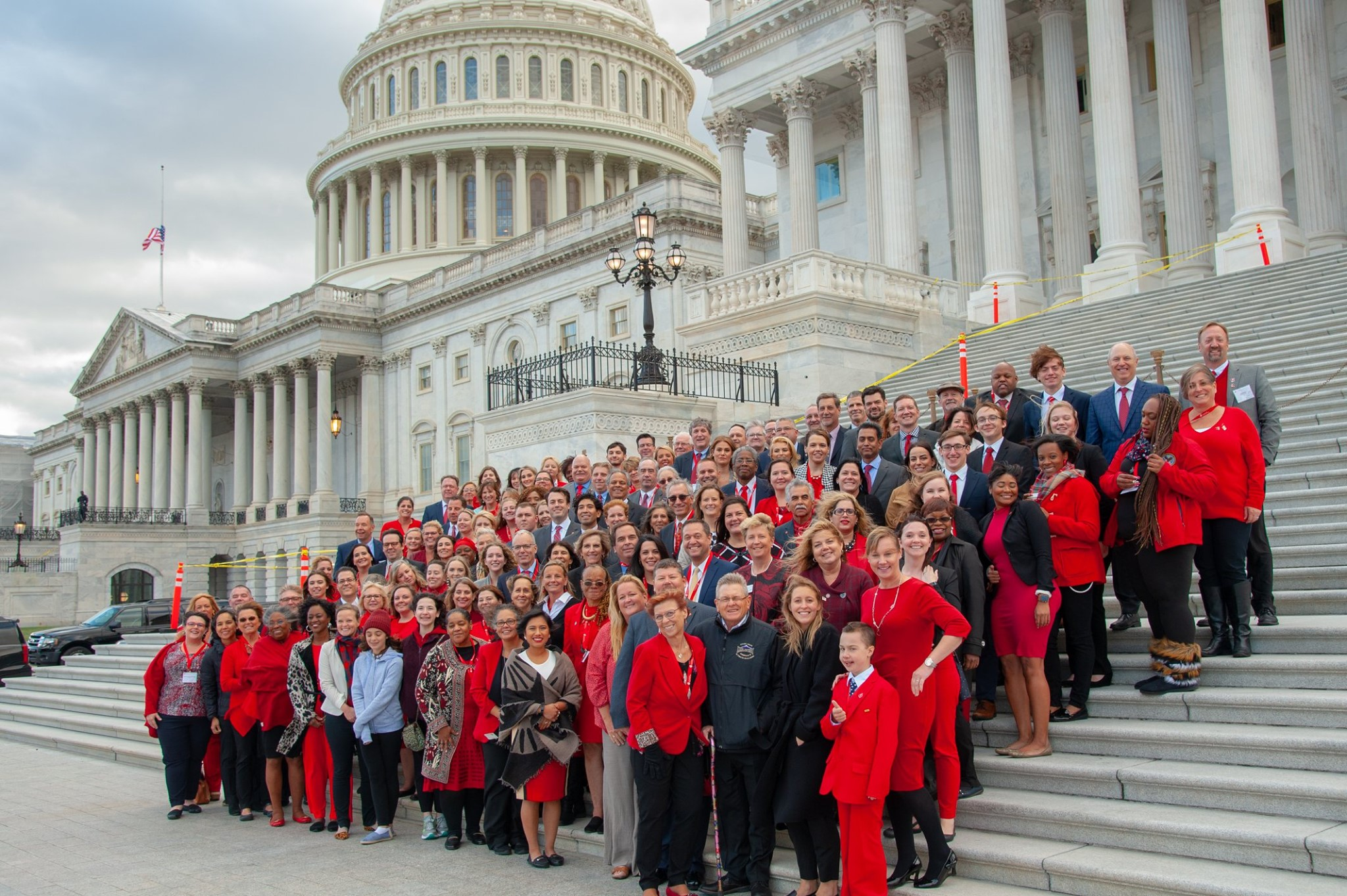 You're the Cure advocates on Capitol Hill