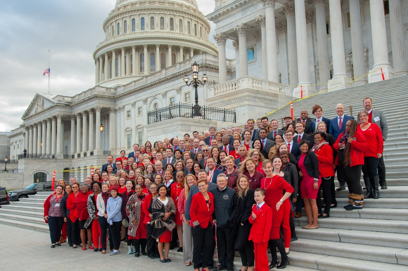Federal Lobby Day 2019 Group Photo