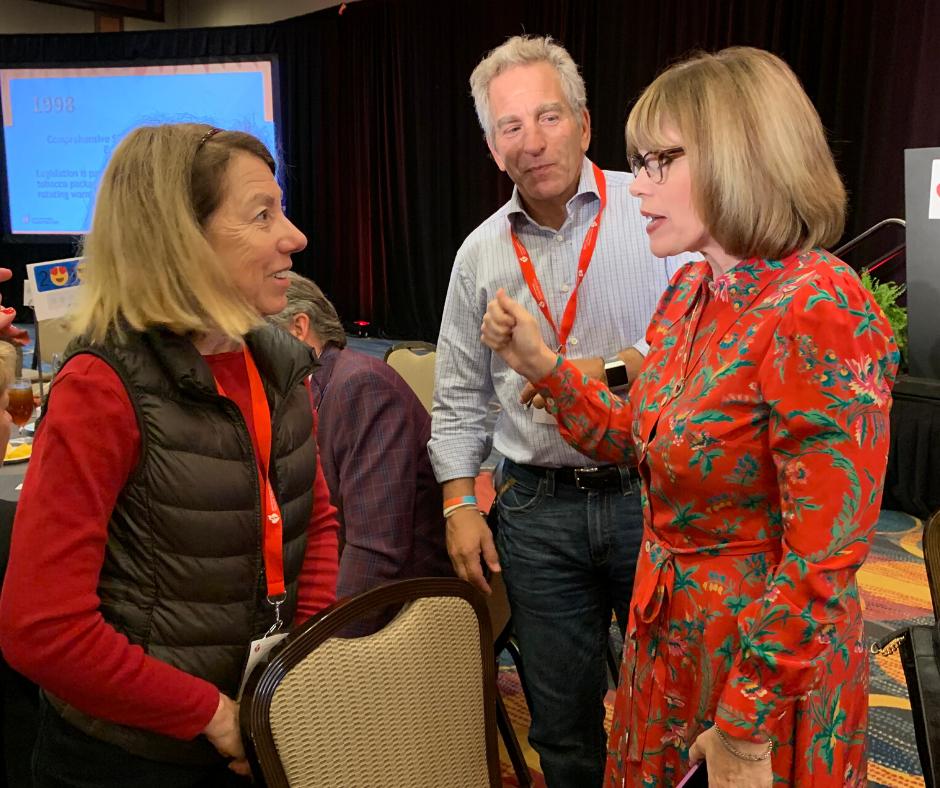 Debra Meyerson, Steve Zuckerman and Nancy Brown at 2019 Federal Lobby Day