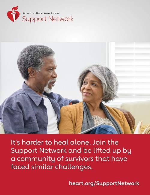 It's harder to heal alone. Join the Support Network and be lifted up by a community of survivors that have faced similar challenges.