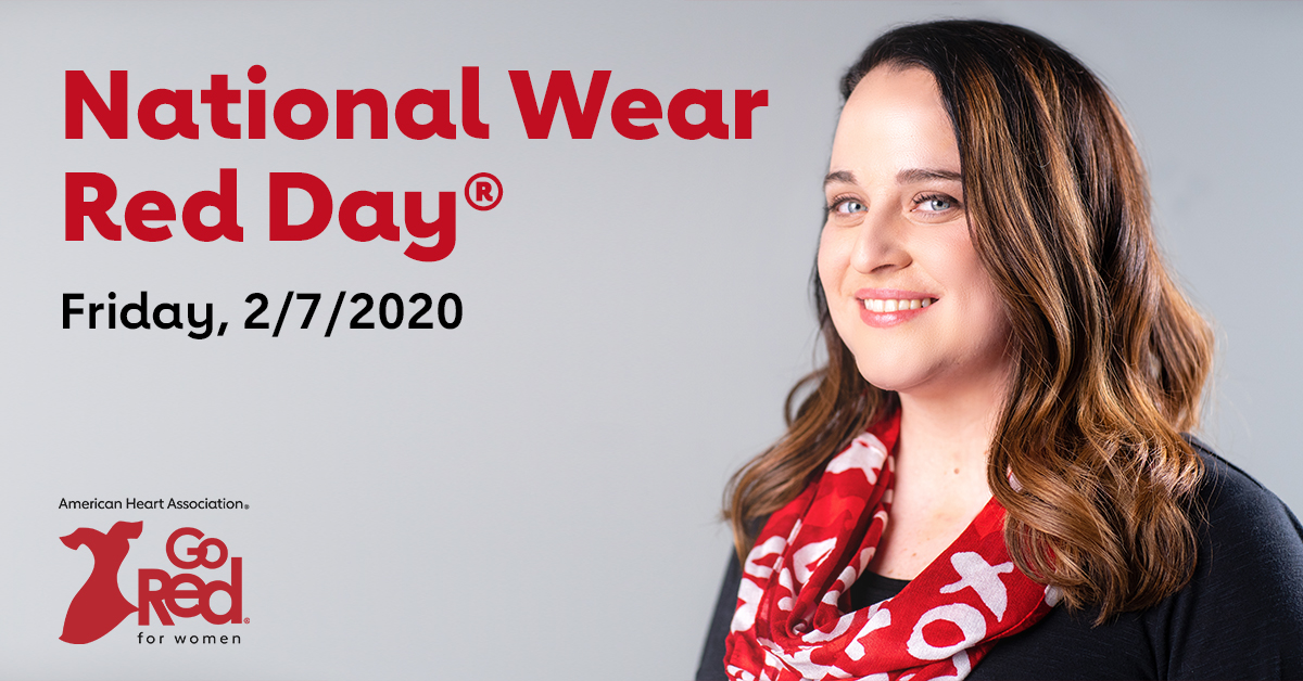 national wear red day friday feb 7 2020
