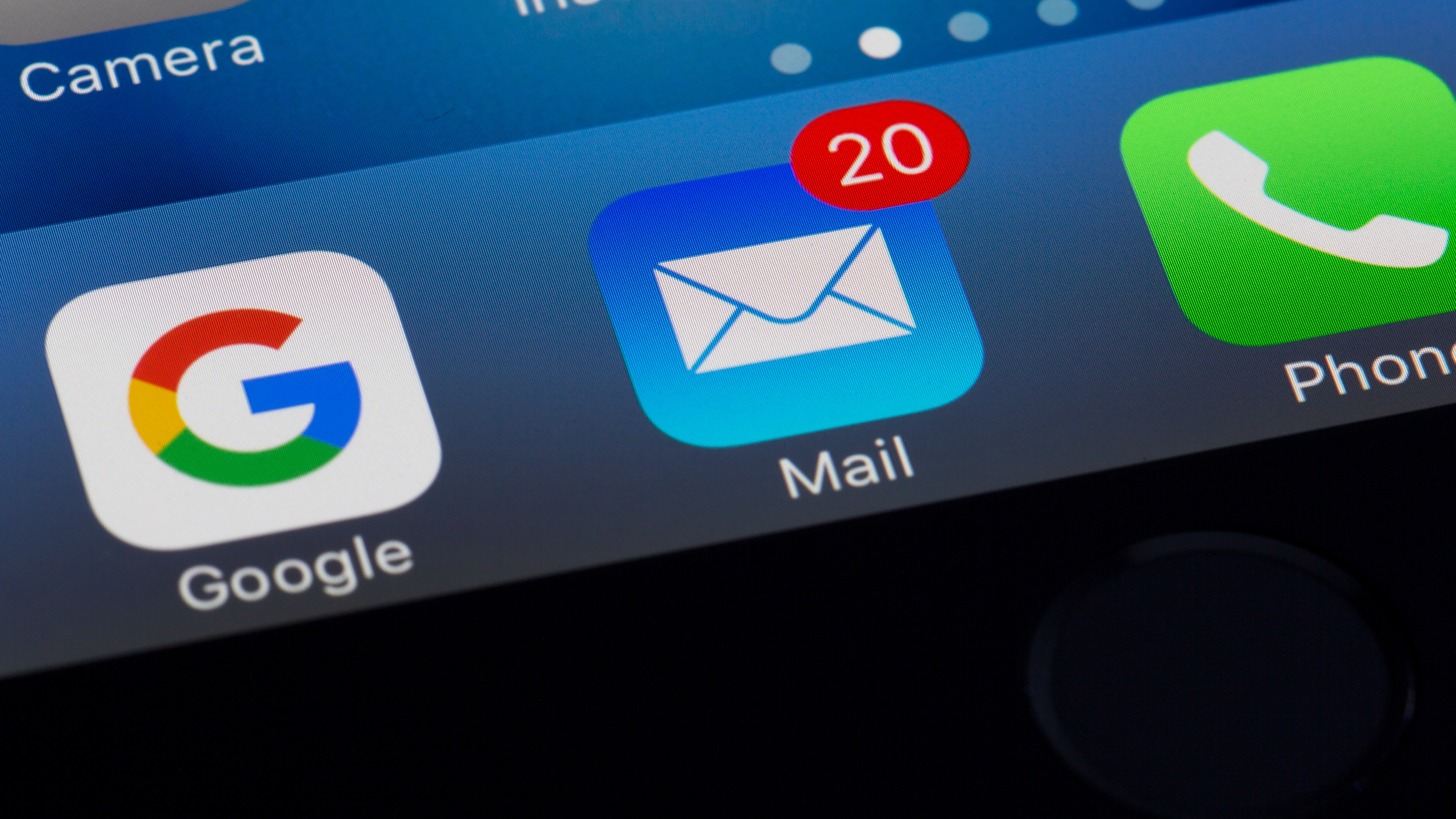 Google and email apps