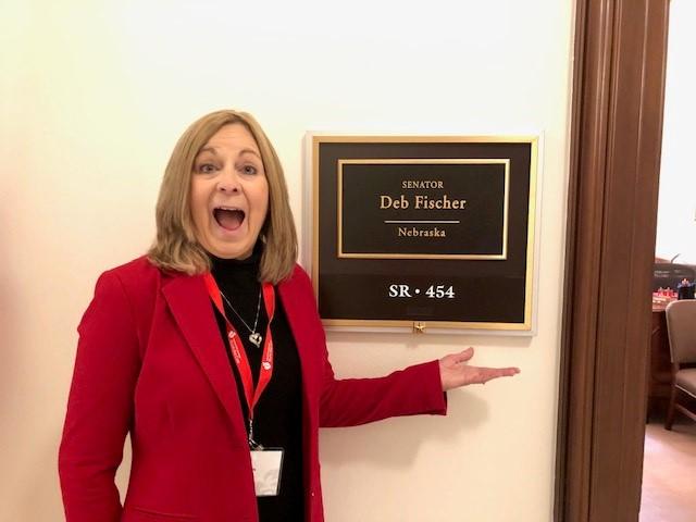 Jill at Federal Lobby Day
