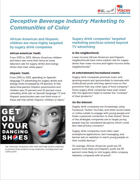 Deceptive Marketing Fact Sheet