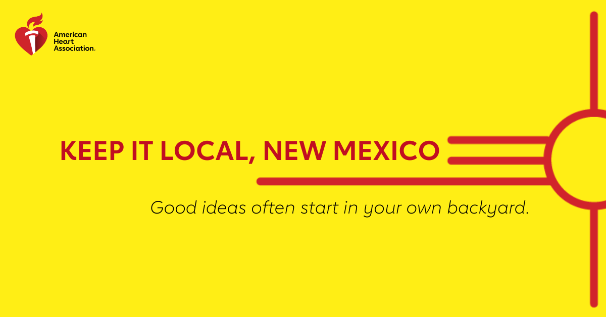 Keep it local, New Mexico