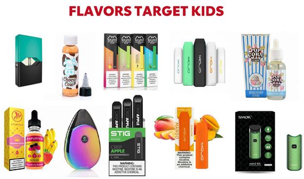 Flavors Target Kids