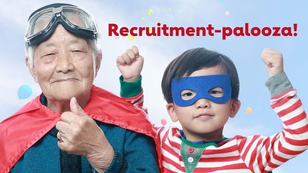 Help us recruit new advocates