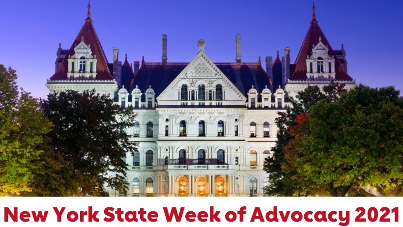New York State Week of Advocacy 2021