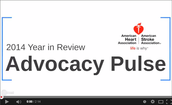 2014 Year in Review....Advocacy Pulse