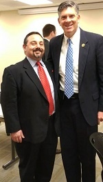 Mark Peysakhovich and Congressman LaHood picture
