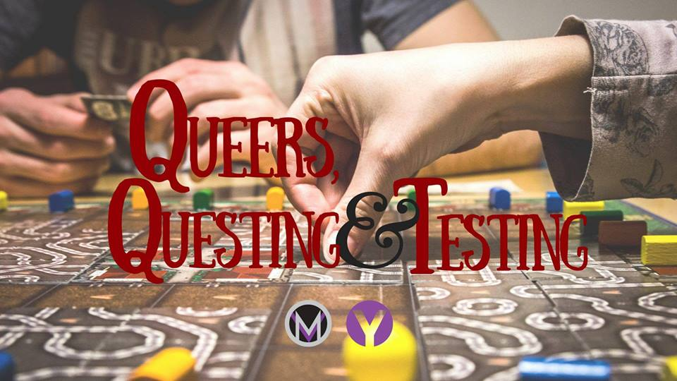 Queers  Questing and Testing Banner