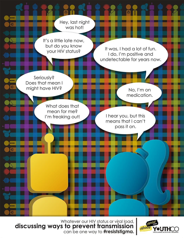 1 u u Resist Stigma Serophobia Campaign Poster JPEG