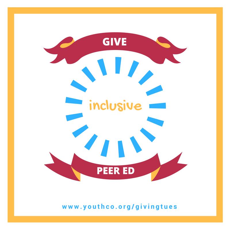 Give inclusive peer ed