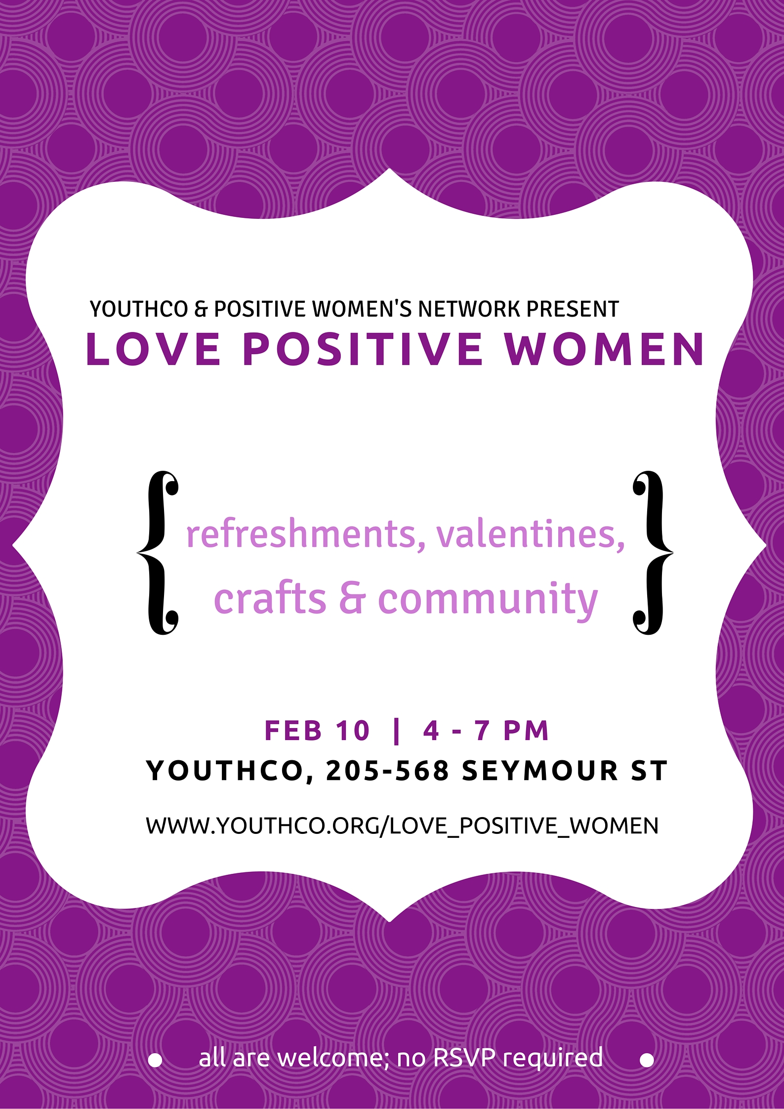 YOUTHCO   POSITIVE WOMEN'S NETWORK PRESENT