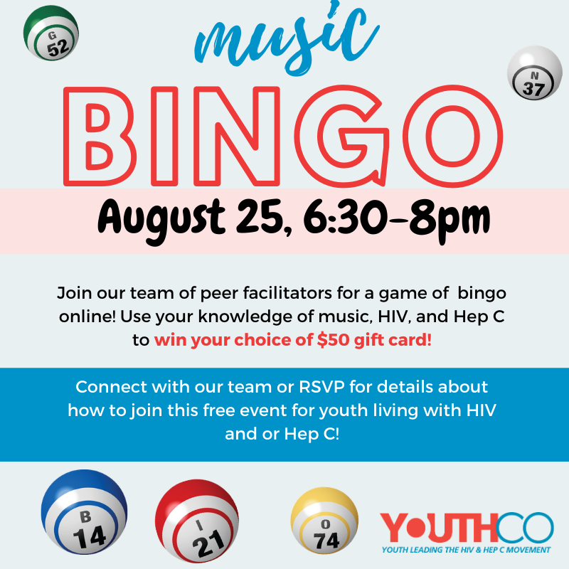 Music Bingo   August