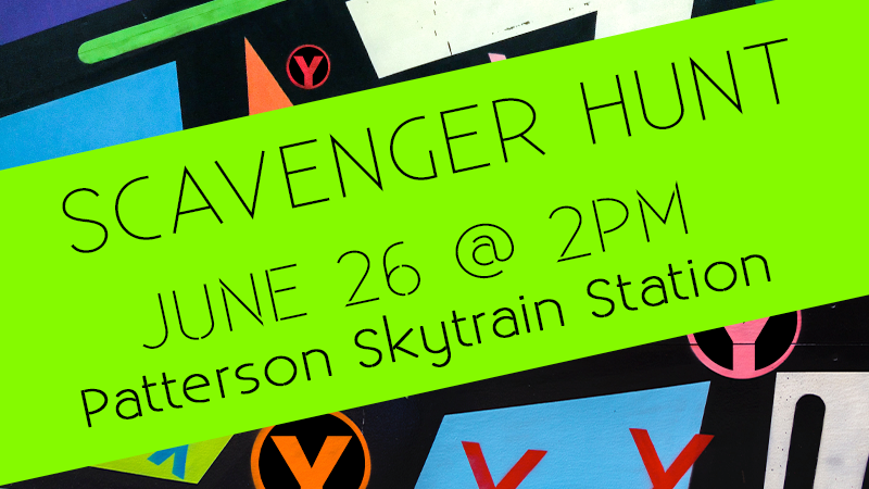 Scavenger Hunt   June 26