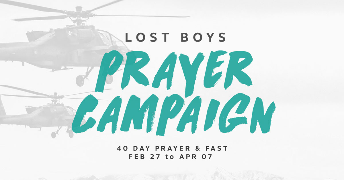 Prayer Campaign 2021|Join us for 40 Days of Prayer & Fasting for our youth to awake to Christ|Learn More