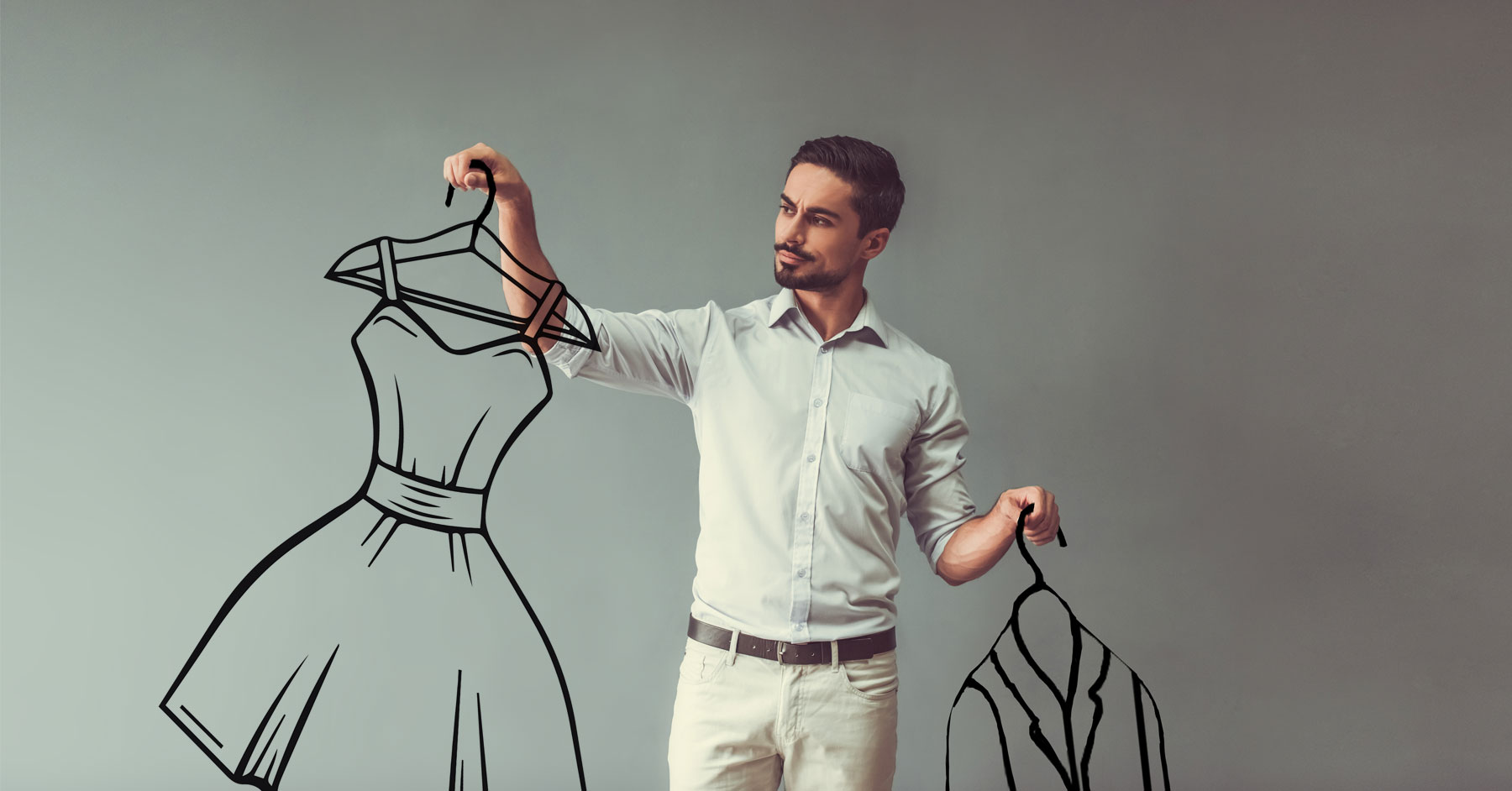 Redefining Masculinity: Men in frilly dresses?