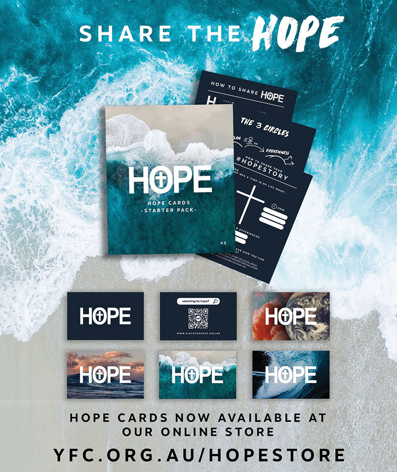Click the above image to see the Hope resources available from our online store
