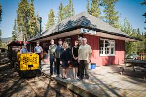 Tourism and Culture Museum Elaine Taylor recently visited one of Yukon's many tourism attractions, the Copperbelt Railway and Mining Museum in Whitehorse. Tourism Week is being celebrated in Yukon from May 30 to June 7.