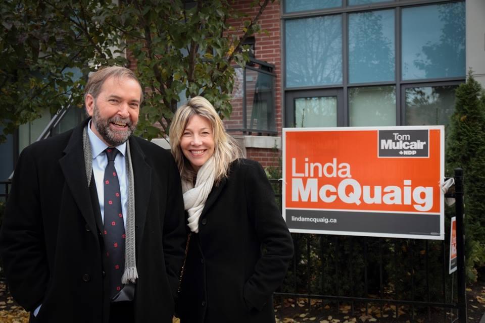 Linda and Tom