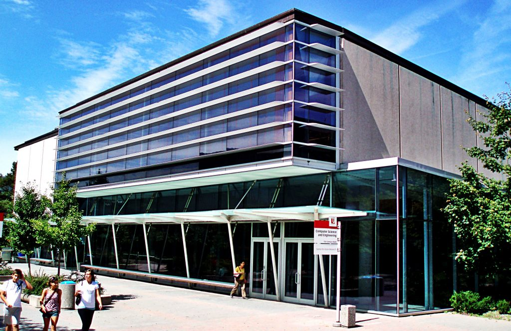 An image of the south-facing elevation of the Lassonde Building