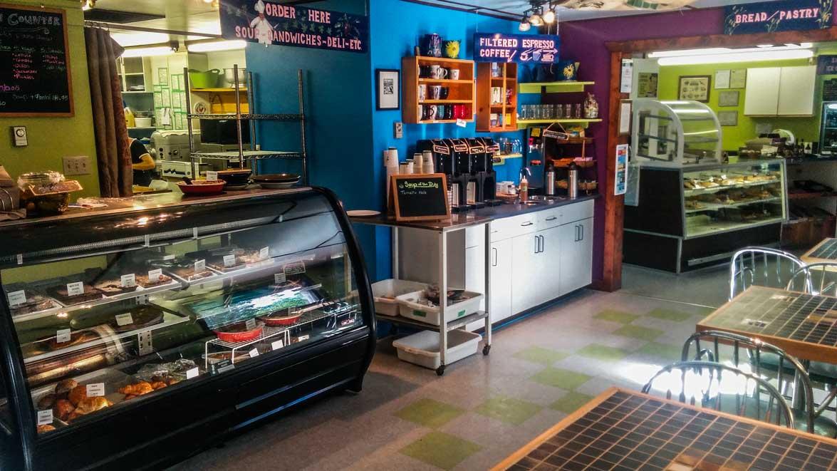 inside the village baker