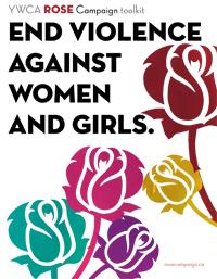 Trousse de la Campagne des roses de YWCA